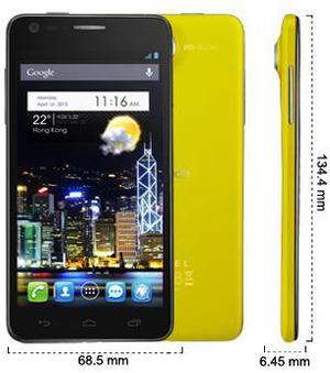 Alcatel One Touch Idol Ultra (foto 1 de 4)
