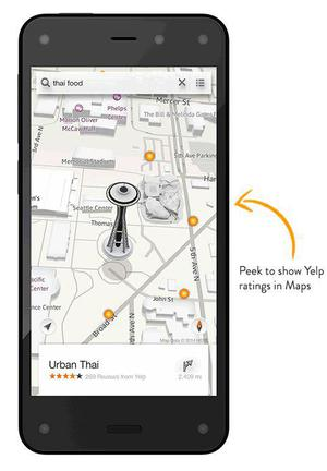 Amazon Fire Phone (foto 1 de 6)