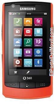 Vodafone 360 Samsung M1